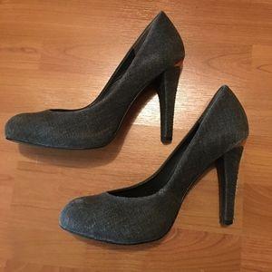BCBGMaxAzria Tweed Heels